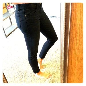 Paige Verdugo Ankle Skinny Jean - Dark Wash